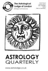 Astrology Quarterly Vol. 81 No. 4, Autumn 2012