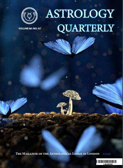 Astrology Quarterly Vol. 86 No. 2, Summer 2021